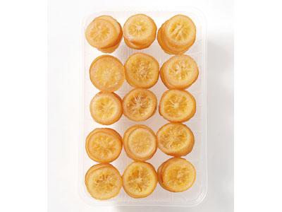 冷凍ラウンドスライスドライ レモン